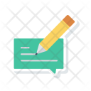 Edit Write Message Icon