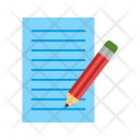 Edit Paper Pencils Icon