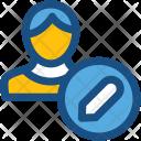 Modify Account Edit Icon