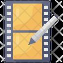 Edit Clip Clip Editing Video Edit Icon