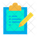 Edit Clipboard Icon