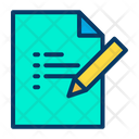 Edit Document Notes Icon