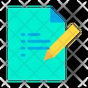 Edit  Document Icon