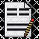 Edit Document Document Paper Icon