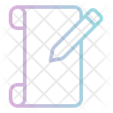 Edit Document File Edit Icon