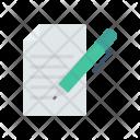 Edit file Icon