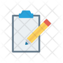 Edit Write Clipboard Icon