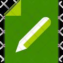 Edit Page Pencil Icon