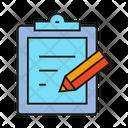 Clipboard Edit Pencil Icon
