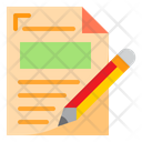 Edit Folder Document Icon