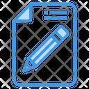 Edit File Text Edit Icon