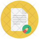 Edit Paper Notes Icon