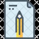 File Edit Paper Icon