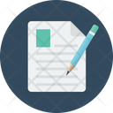 Edit File Edit Document Editor Icon