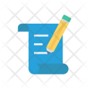 Edit Flyer Pencil Icon