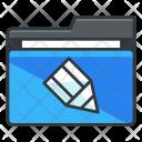 Edit Folder Collection Icon
