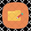 Edit Folder Archive Icon