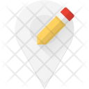 Edit Pin Geolocation Icon