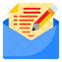 Edit Mail Edit Email Write Mail Icon
