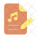 Edit Music Note Icon