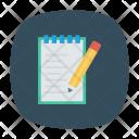 Edit Notes Pen Icon