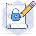 Edit Privacy Data Icon