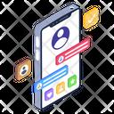 Edit Profile Mobile Profile Mobile Account Icon