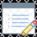 Edit Property Webpage Icon