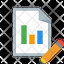 Edit Report Paper Icon