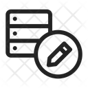 Edit Server Database Icon