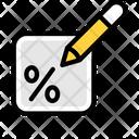 Edit Tax Icon