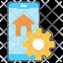 Home Edit Tools Smartphone Icon