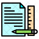 File Pen Ruler Icon