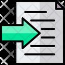 Edit Tools Import Data Icon