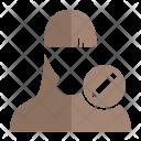 Pencil User Avatar Icon