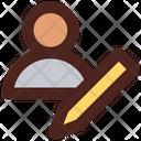 Edit User Edit Profile Edit Account Icon