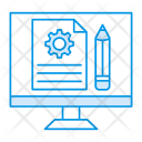 Edit Webpage Create Icon