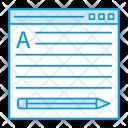 Edit webpage Icon