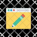 Edit Browser Pen Icon