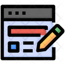 Edit Website Icon