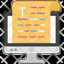 Editing Multimedia Data Composition Icon