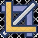 Designing Tool Crop Tool Editing Tool Icon