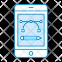 Editor Mobile Phone Icon