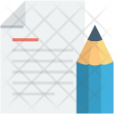 Editor Paper Pencil Icon