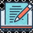 Editor Pencile Copyholder Icon