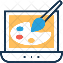 Design Paint Palette Icon