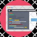 Ide Editor Web Icon