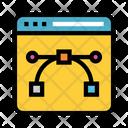 Design Webpage Internet Icon