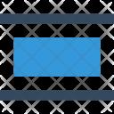 Editor Distribute Horizontal Icon