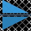 Editor Flip Horizoltal Icon